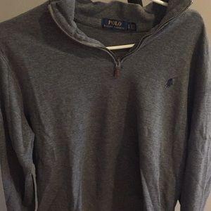 Quarter zip shirt polo